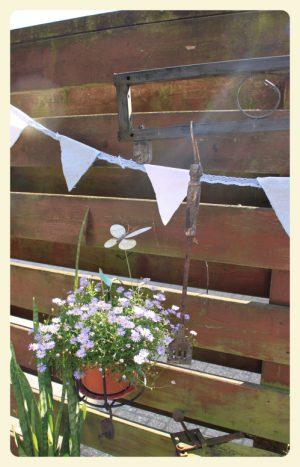 Grillen, endlich wurde im Garten auch mal gefeiert!