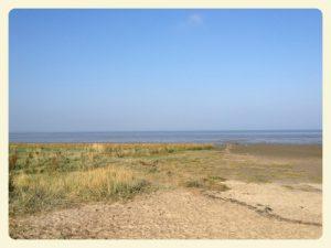 Da hinten ist Wilhelmshaven auch wenn man´s nicht sehen kann :-)